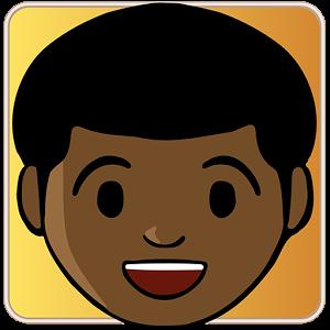 black man emoji