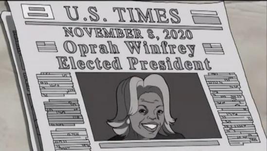 President Oprah